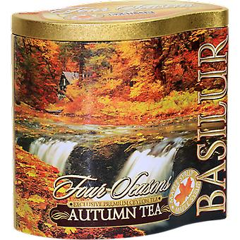 Basilur Tea - Autumn Tea - Black Loose Tea In Tea Caddy