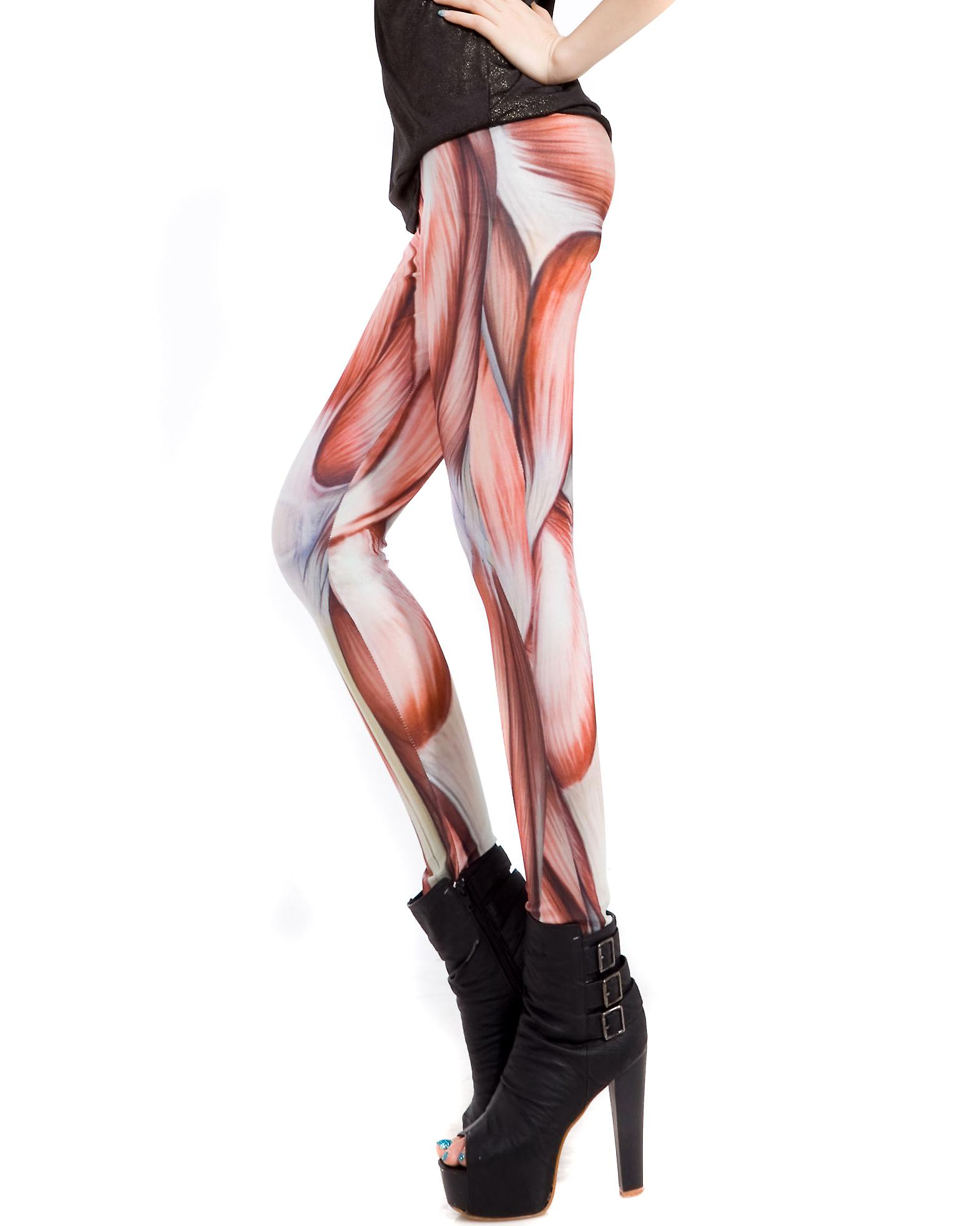 Waooh - Mode - Leggings fantaisie long - Muscles