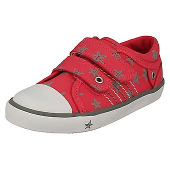 Childrens Boys/Girls Startrite Casual Shoes Zip - Pink Canvas - UK Size 13F - EU Size 32 - US Size 1