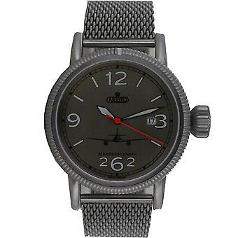 Aristo mens watch wristwatch Fliegeruhr ME 262 automatic 3H262-ALU-MIL