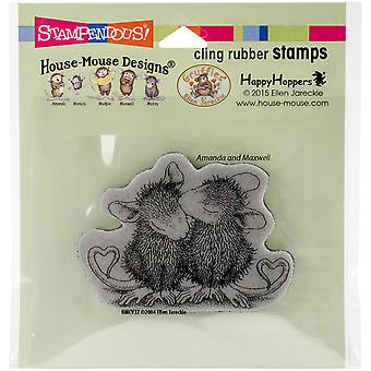 Stampendous House Mouse Cling stempel 4,75