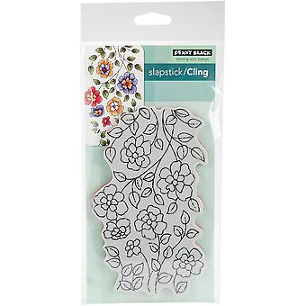 Penny Black Cling Stamps-Felicity 3.8
