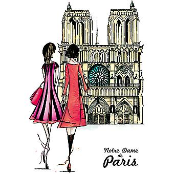 Carabelle Studio Cling Stamp A6 By Soizic-Notre Dame Of Paris