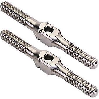 Repuestos equipo C TU0123 titanio varilla roscada (3 x 30 mm)