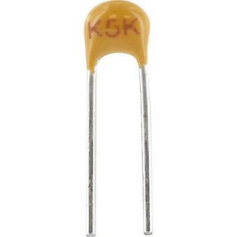 Ceramic capacitor Radial lead 100 pF 100 V 5 %