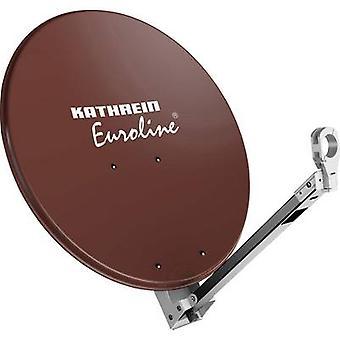 Kathrein KEA 750 SAT antenna 75 cm Reflective material: Aluminium Red brown