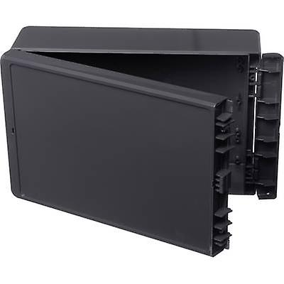 Bopla Bocube B 261709 ABS-7024 Wall-mount enclosure, Build-in casing 170 x 271 x 90 Acrylonitrile butadiene styrene Graphite grey (RAL 7024) 1 pc(s)