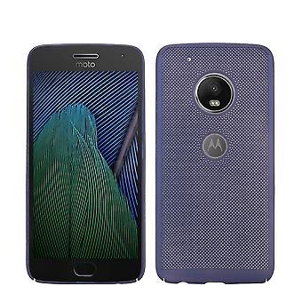 Cell phone for Motorola Moto G5 plus dække tilfælde pose dækning case blå