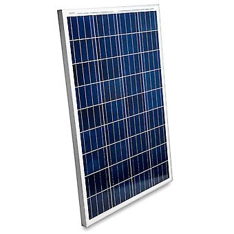 100 Watts 12 Volts Polycrystalline Solar Panel - Fast Charging, High Efficiency, and Long Lasting - Perfect for Off-Grid Applications, Motorhomes, Vans, Boats, Camping, Tiny Homes and More!