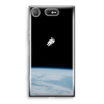 Sony Xperia XZ1 Compact Transparant Case (Soft) - Alone in Space