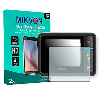 Removu R1 Plus Screen Protector - Mikvon Clear (Retail Package with accessories)