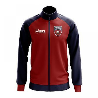 Bermuda Concept Football Track Jacket (Red) - Kids