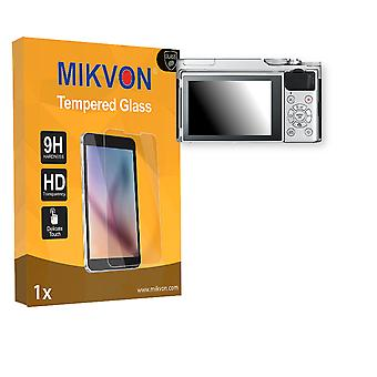 Fujifilm X-A10 Screen Protector - Mikvon flexible Tempered Glass 9H (Retail Package with accessories)
