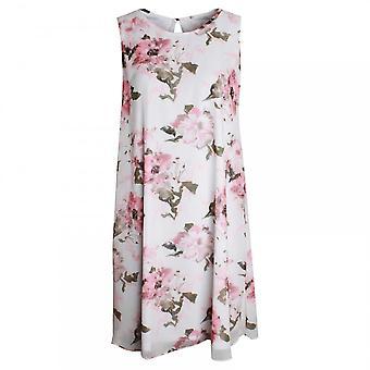 Frank Lyman Sleeveless Floral Print Shift Dress