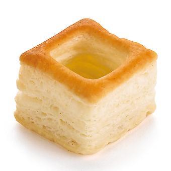 Pidy Mini Carré: Mini quadratische Vol au Vent 3cm
