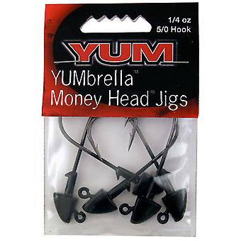 YUM Baits YUMbrella Money Head Fishing Jigs - 1/4 oz