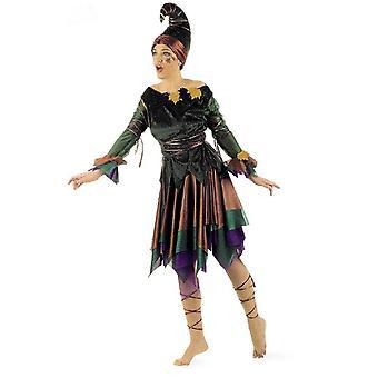Elf fairy kvinners kostyme Elf kjole skogen fairy damer drakt fairy