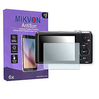 Casio Exilim EX-ZR700 Screen Protector - Mikvon AntiSun (Retail Package with accessories)