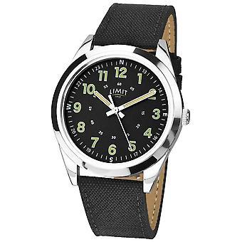 Limit | Mens | Black Leather Strap | 5950.01 Watch