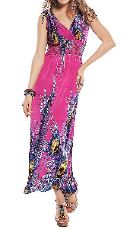 Waooh - Mode - Robe longue à motif fleuri