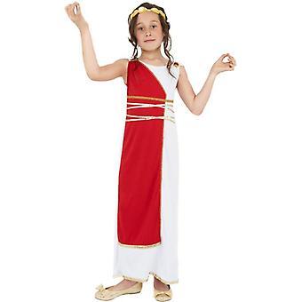 ギリシャの少女コスチューム、大きい年齢 10-12