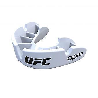 Opro Junior UFC Bronze Mund Guard weiß