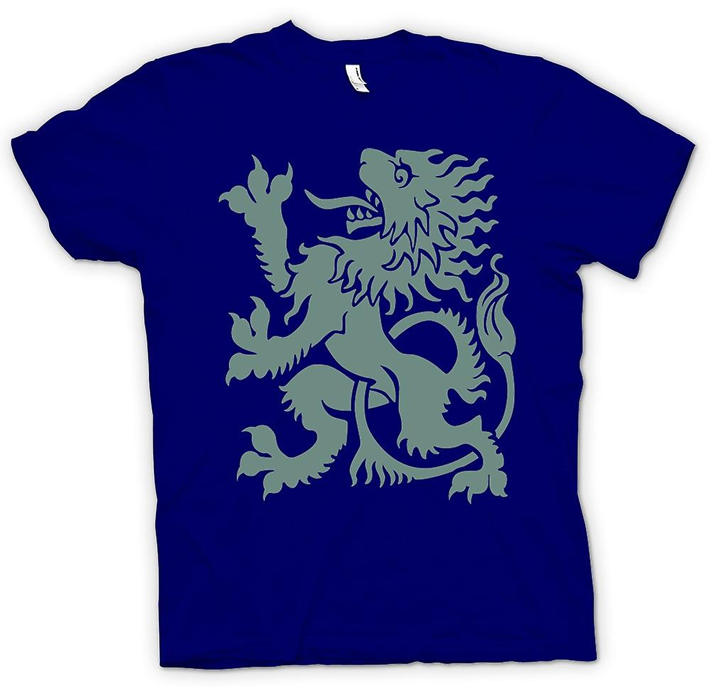 Mens T-shirt - Welsh Dragon - Heraldy - Cool