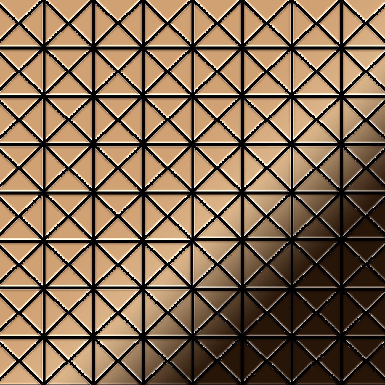 Mosaïque en métal massif Titane ALLOY Deco-Ti-AM