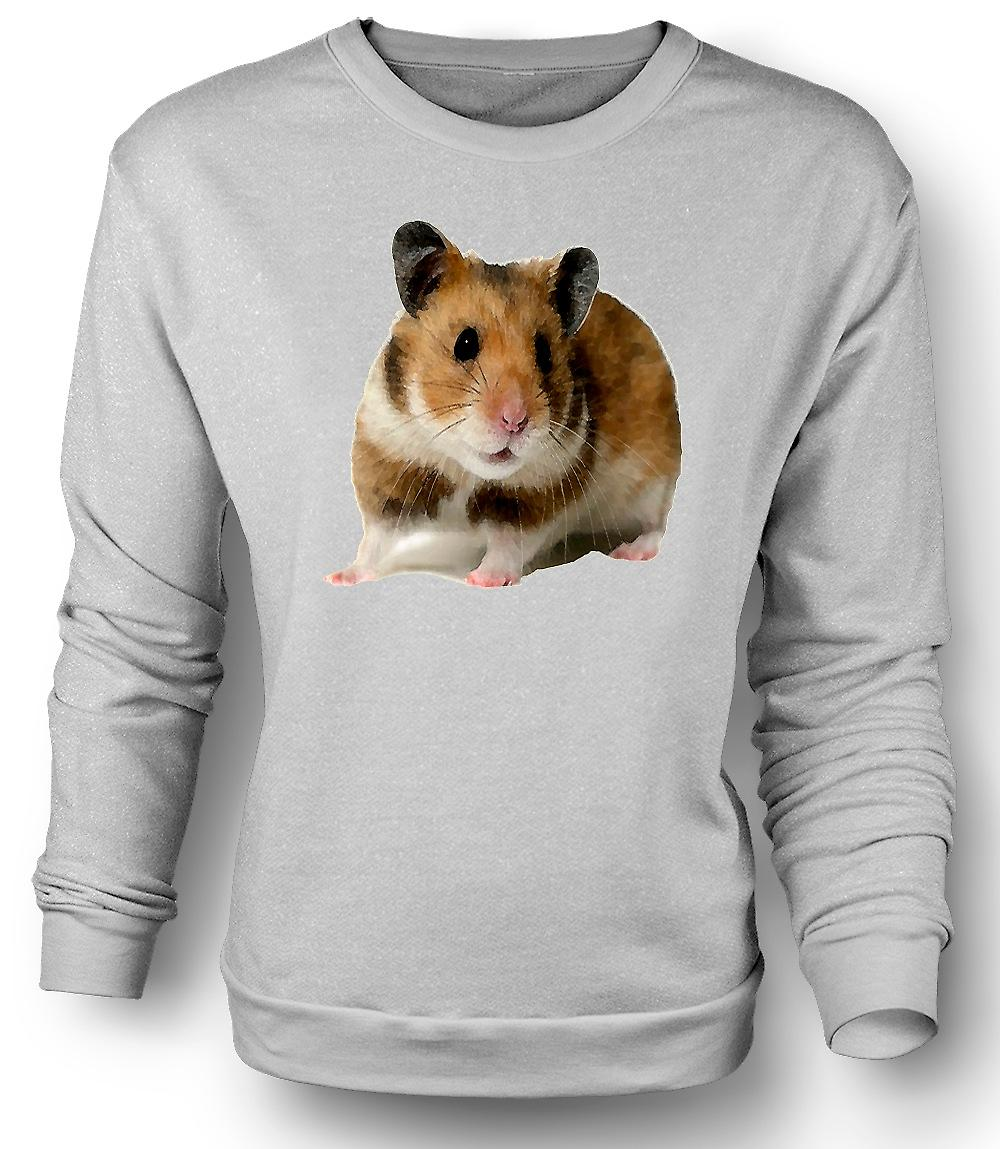 Mens Sweatshirt  Hamster - Pet Animal