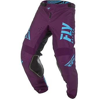 Fly Racing Port-Light Blue 2019 Kinetic Shield MX Pant