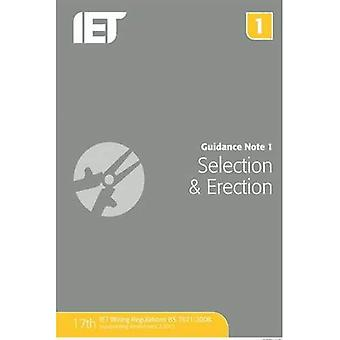 Guidance Note 1: Selection & Erection (Electrical Regulations)