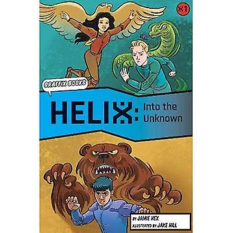 Into the Unknown [Graphic Reluctant Reader] (Helix)