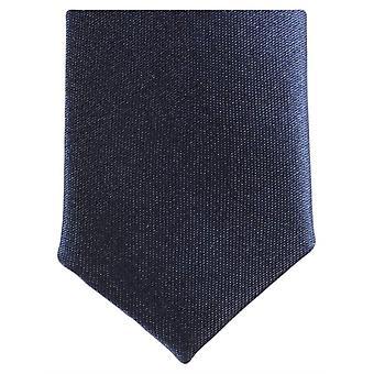 Knightsbridge dassen mager Polyester ex aequo - Dark Navy