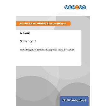 Solvabiliteit II door Kaindl & A.