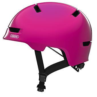 Abus Scraper Kid 3.0 Fahrradhelm // shiny pink