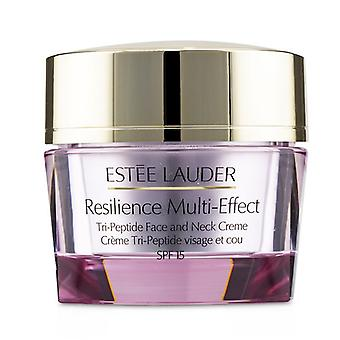 Estee Lauder Resilience Multi-Effect Tri-Peptide Face and Neck Creme SPF 15 - For Dry Skin - 50ml/1.7oz