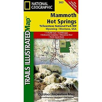 Mammoth Hot Springs Yellowstone National Park NW - Wyoming / Montana -