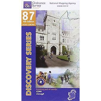 Cork (4th Revised edition) by Ordnance Survey Ireland - 9781908852052