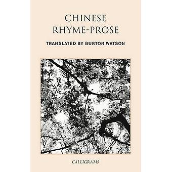 Chinese Rhyme-Prose (Main) by Burton Watson - Lucas Klein - 978962996