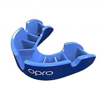 OPro Junior Zilver Gen 4 mond bewaker blauw/licht blauw