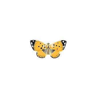 Fable Womens/Ladies Enamelled Butterfly Brooch With Gift Box