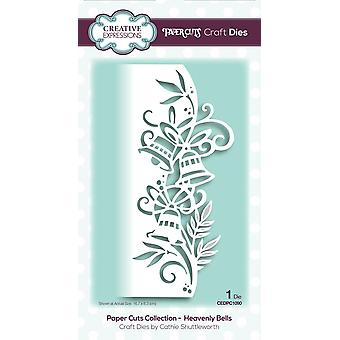 Creative Expressions Die Heavenly Bells Festive Wording Edgers | Paper Cuts Collection