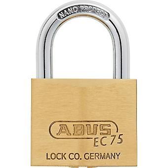 ABUS Extra-Classe mässing hänglås knappat säkerhet 75/50 B (DIY, hårdvara)