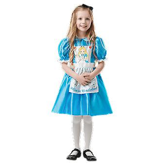Girls Age 3 - 8 Years Alice In Wonderland Costume World Book Day Fancy Dress