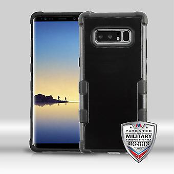 MYBAT Natural Black/Black TUFF Merge Hybrid Protector Cover   for Galaxy Note 8