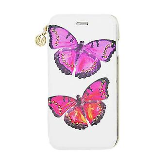 iPhone 6/6s - 4.7 Inch Studded Butterfly Folio Hard Shell