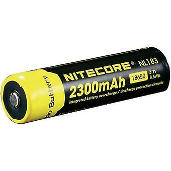 Non-standard battery (rechargeable) 18650 Li-ion NiteCore