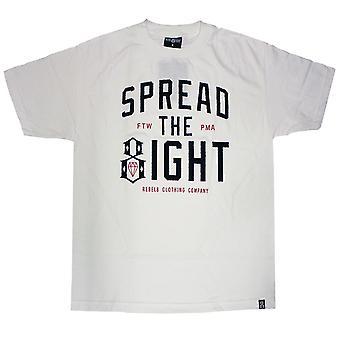 Rebel8 répandre le huit T-shirt blanc