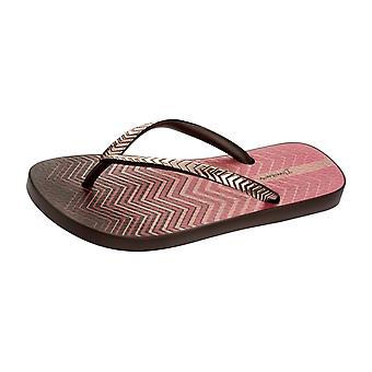 Ipanema Trends VII Womens Flip Flops / Sandals - Brown Pink
