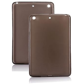 Each high-quality smooth rubber TPU, to iPad mini (grey)